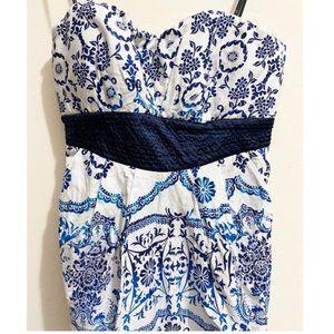 ‼️LAST CHANCE‼️Floral Strapless Dress Junior Sz 9